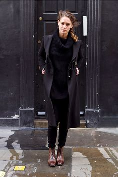 Black + Brown Boots
