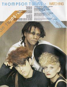 Thompson Twins, Smash Hits, July 7, 1983