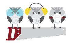 'Three Wise Owls' by Andrew Liebchen