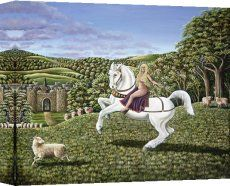 Lady Godiva Horse Goddess