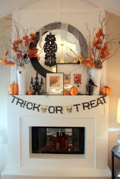 Halloween Mantle ideas