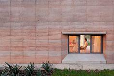 Rammed Earth - Casa Ajijic by Tatiana Bilbao
