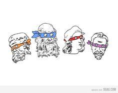 ninja turtles... artist style