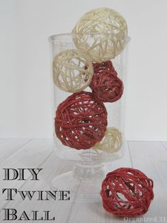 DIY Twine Ball - Org