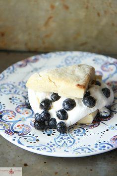 Lemon Blueberry Shortcakes