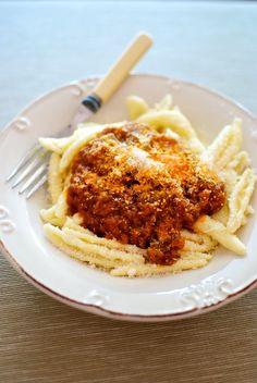 Pasta con salsa de berenjenas, receta griega con Thermomix « Thermomix en el mundo