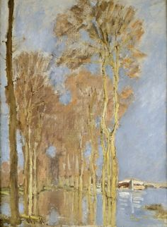 1872 Claude Monet Flood(private collection)