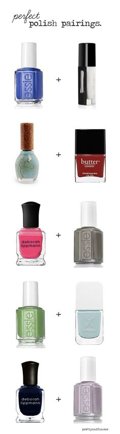 Need the right mani to match your pedi? Look no further!