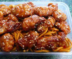 Slow cooker chicken in honey sauce.Chicken breasts with honey and soy sauce cooked in slow cooker.