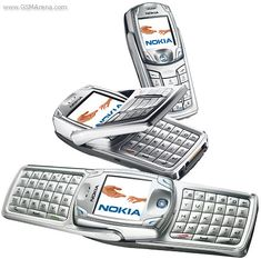 Nokia 6822 - Forgot about this. One of my favorite ever Nokia phones. That keyboard made typing messages so easy.