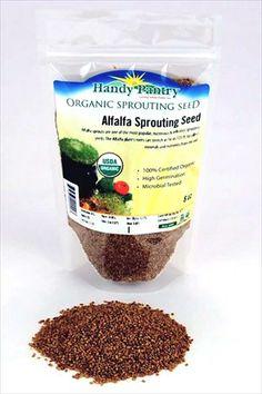 Alfalfa sprouting seeds!