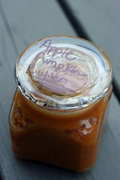 Apple Pumpkin Butter (gluten-free, dairy-free, sugar-free)