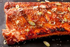 Miso-Ginger Glazed Salmon