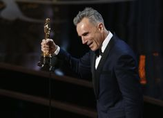 Daniel Day Lewis wins the Best Actor award at the Oscars for a historic third time.