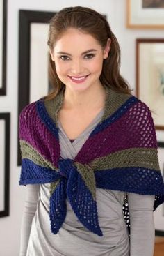 Lacy Triangle Shawl