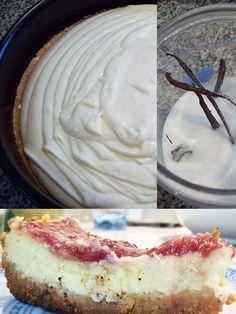 Receta de Cheesecake Vainillado