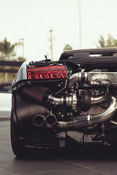 Twin turbo gallardo