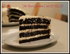 The Best Chocolate Cake Ever!