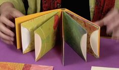 Accordion Mini Book with Envelope Pages | Sandi Genovese