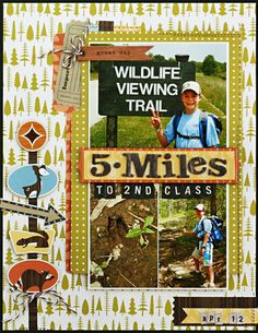*5 Miles to 2nd Class* - Scrapbook.com