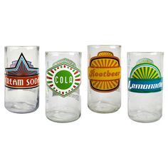 Found it at Wayfair - Upcycle Fun in Sun Highball Glass (made from old soda bottles)