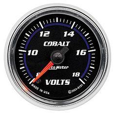 Auto Meter Cobalt Voltmeter