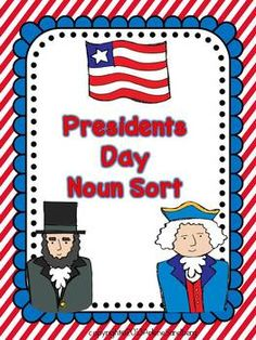 Presidents Day Noun    - Pinned by @PediaStaff – Please Visit ht.ly/63sNtfor all our pediatric therapy pins