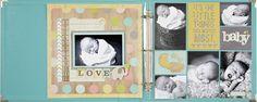 NEW Simple Stories Hello Baby - Scrapbook.com - Made with Simple Stories Hello Baby Collection.
