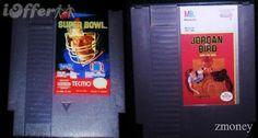 NES Tecmo Super Bowl & Jordan vs. Bird - $21.98 (iOffer)