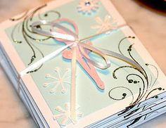 Great idea for a girl's birthday in the winter :) Just might use it one day!