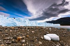 Ice World by The Perito Moreno Glacier