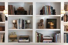 Bookshelves - arrangement