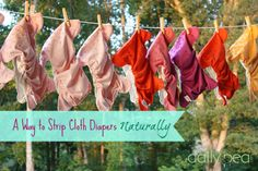 How to strip cloth diapers naturally