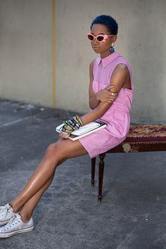 ni'ma ford model  | CurlSista of the Day: Ni'ma from Brooklyn