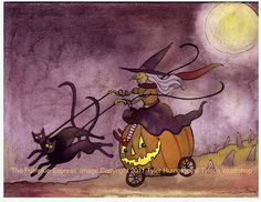 Witch Funny Witch Card Halloween Card Witch by tylersworkshop, $3.50