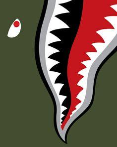 Land Shark Art Print