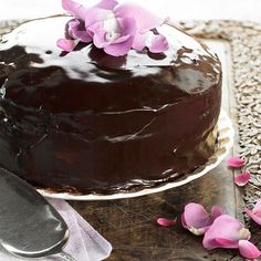 Bacon-Laced Chocolate Cake