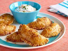 Cheesy Chicken Empanadas Recipe : Patrick and Gina Neely : Food Network - FoodNetwork.com