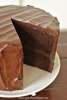 Big Moist Chocolate Cake