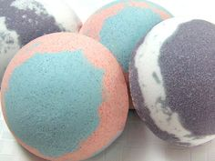 Multi Colored Bath Bomb Tutorial — Recipes & Tutorials Crafting Library