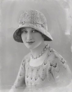 Gilly Flower by Bassano, 1930