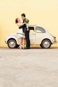 Italian retro wedding