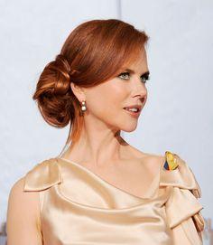 Updo Hairstyles - Nicole Kidman