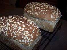 My favorite, most successful homemade bread recipe; requires a stand mixer. Yum!