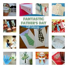 For our Fantastic Fathers: Easy Gift Ideas For Dad that you can make fast and with your kids!