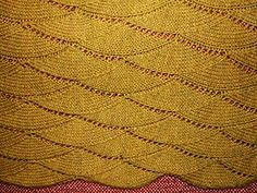Old Shale Knitting Pattern Afghan : OLD SHALE BABY BLANKET PATTERN Sewing Patterns for Baby