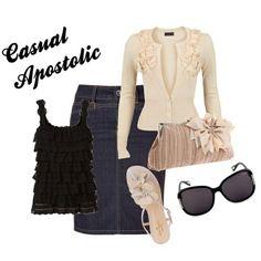 pentecostal clothing | Fashion / Cute pentecostal outfit!