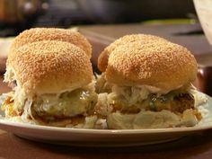 The Wurst Reuben Burgers Recipe : Rachael Ray : Food Network - FoodNetwork.com