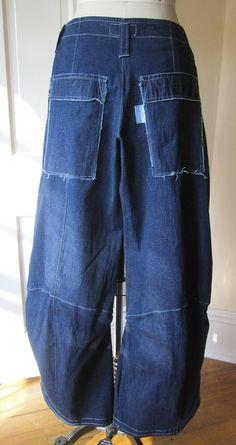 BREATHE  Gangsta Jeans lagenlook boho by Breathe1960 on Etsy, $135.00