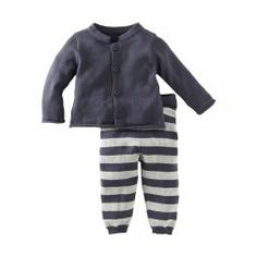 Cozy Sweater Baby Outfit | Bundle your joy in happy stripes.